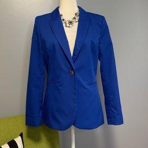 H&M Vibrant Blue Tailored Blazer Jacket